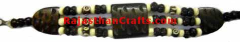 Bone Horn Bracelet, Bracelet Made from Bone