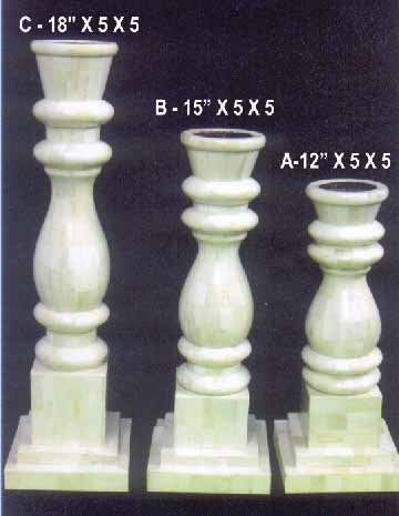 Bone Horn Candle Stand, Bone and Horn Crafts, Rajasthan Bone Horn Handicrafts, Indian Bone Handicrafts
