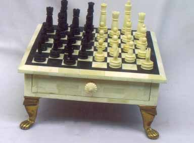 Bone Horn Chess Sets, Bone and Horn Crafts, Rajasthan Bone Horn Handicrafts, Indian Bone Handicrafts
