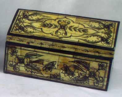 Bone Horn Jewelry Box, Bone and Horn Crafts, Rajasthan Bone Horn Handicrafts, Indian Bone Handicrafts