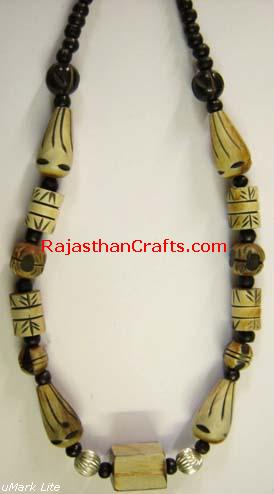 Bone Horn Jewelry, Necklace Made from Bone