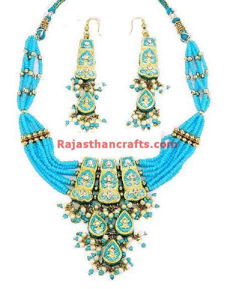 Lac Jewelry, Jewellery Round Necklace Set