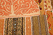 Rajasthan Bed Covers, Old Patch Work Bed covers, Rajasthan Textiles