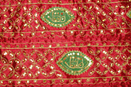 Rajasthan Bed Covers, Aari Jari Work Bed Covers, Satan Silk with Metallic Thread Bed Covers, Rajasthan Textiles