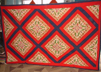 Bed Spreads, Rajasthan Bed Spreads, Rajasthan Textile Crafts, Indian Home Furnishings