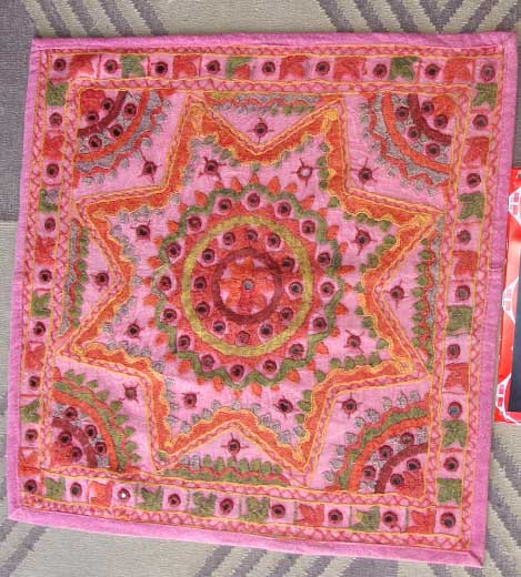 Cushion Covers, Rajasthan Cushion Covers, Rajasthan Textile Crafts, Indian Home Furnishings