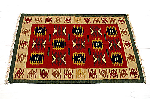 Rajasthan Carpets, Durries, Rugs, Rajasthan Cotton By Wool Durries / Carpets / Rugs, Rajasthan Textiles
