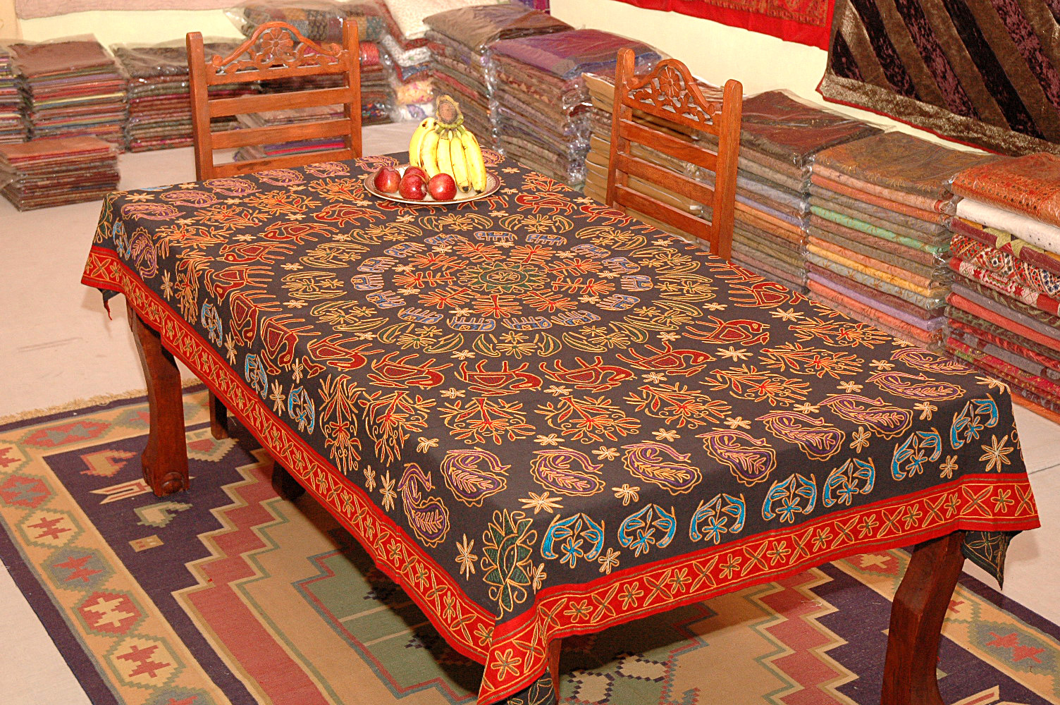 Rajasthan Table Covers Rajasthan Textiles & Table Covers \u2013 Rajasthan Handicrafts