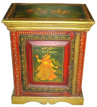 Bed Side Stools Made From Wood, Rajasthan Handicrafts, Indian Furniture