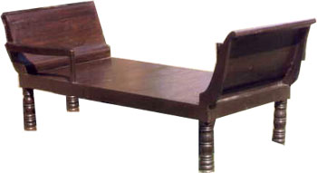 Bench Made From Wood, Rajasthan Handicrafts, Indian Furniture