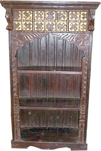 Book Shelves Made From Wood, Rajasthan Handicrafts, Indian Furniture