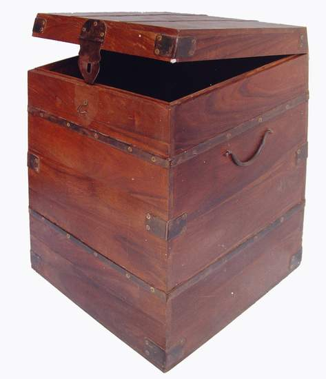 Box Made From Wood, Rajasthan Handicrafts, Indian Furniture