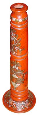 Candle Stands Made From Wood, Rajasthan Handicrafts, Indian Furniture
