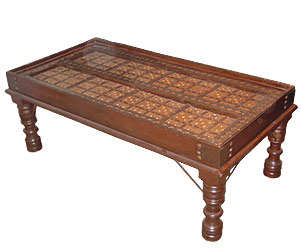 Center Tables Made From Wood, Rajasthan Handicrafts, Indian Furniture