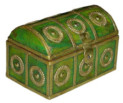 Jewelry Box Made From Wood, Rajasthan Handicrafts, Indian Furniture