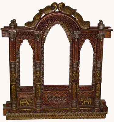 Jharokhas Made From Wood, Rajasthan Handicrafts, Indian Furniture