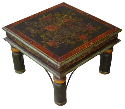 Stools Made From Wood, Rajasthan Handicrafts, Indian Furniture